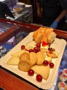 Tabla de diez quesos tapas